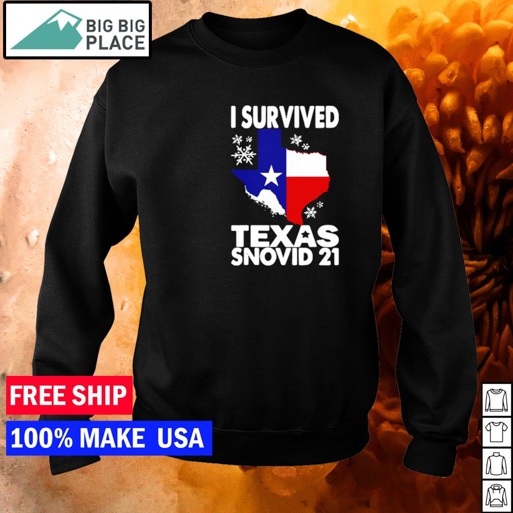 Covid-19 I survived Texas snovid-21 s sweater