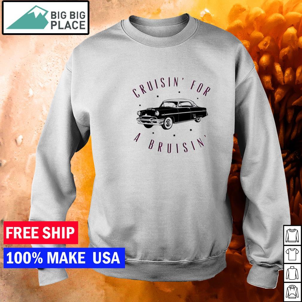 Cruisin' for a Bruisin' black car s sweater