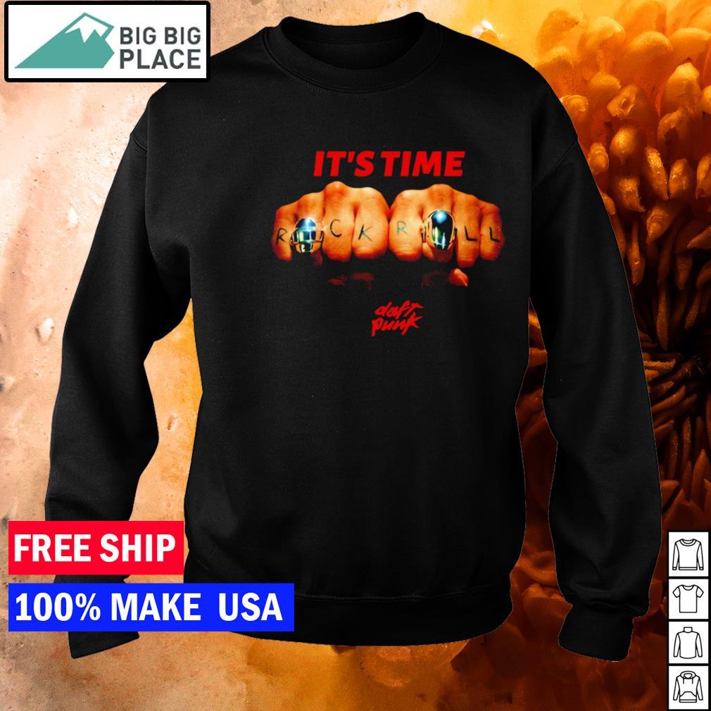 Daft Punk it's time rock n' roll s sweater