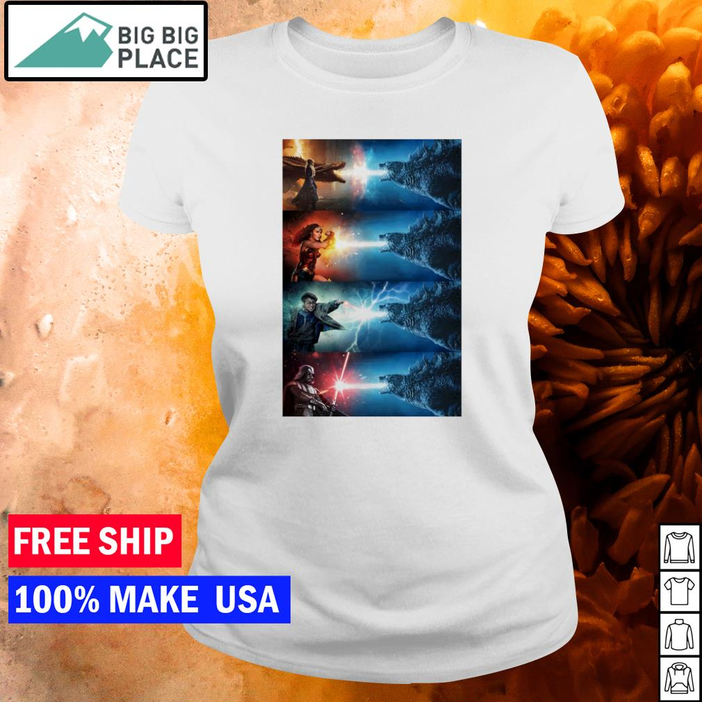 Godzilla king of the monsters s ladies tee