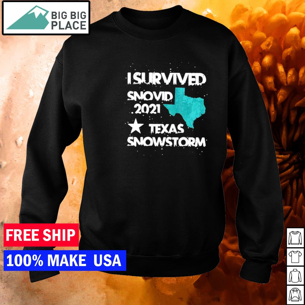 I survived snovid 2021 Texas snowstorm s sweater