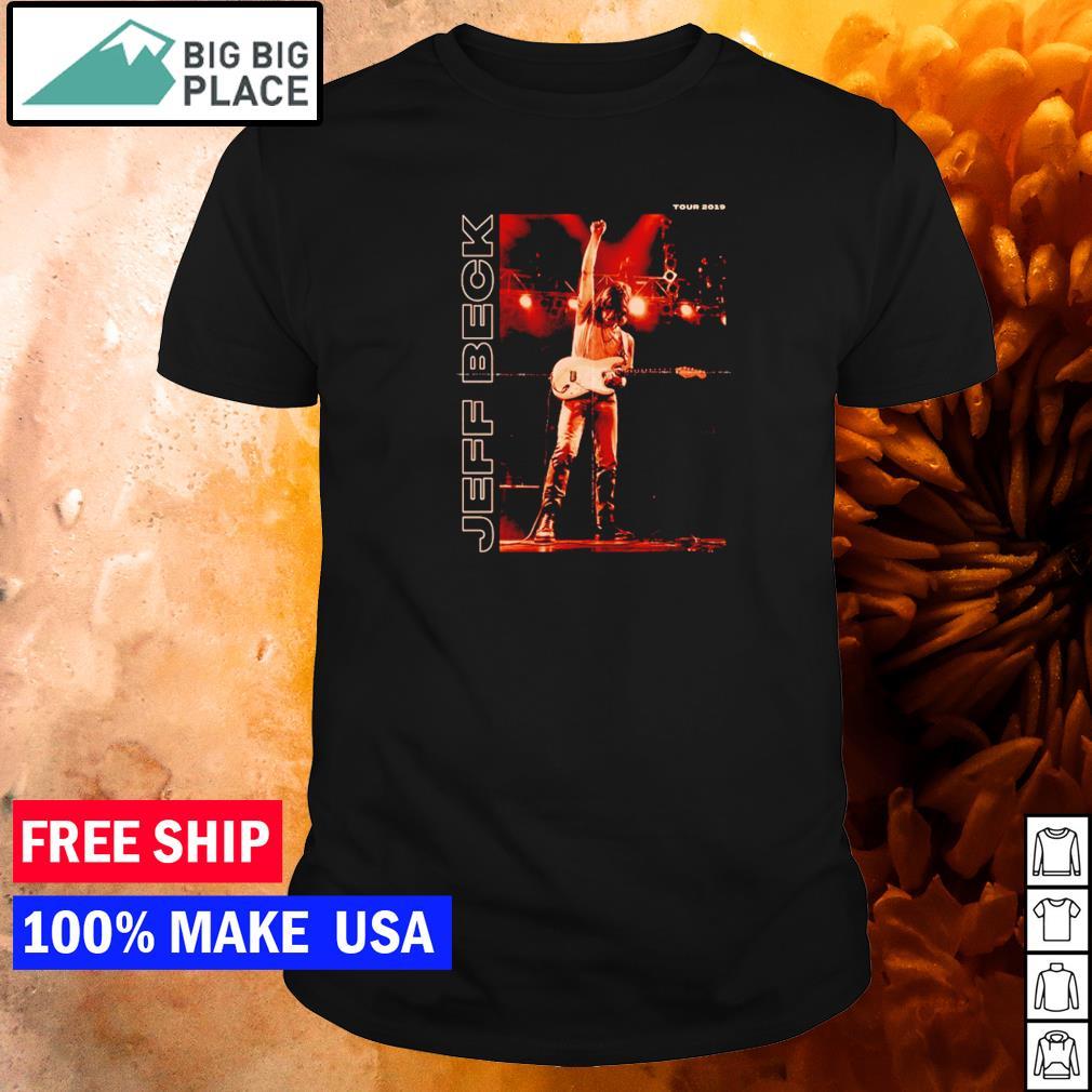Jeff Beck tour 2019 guitarist legend shirt