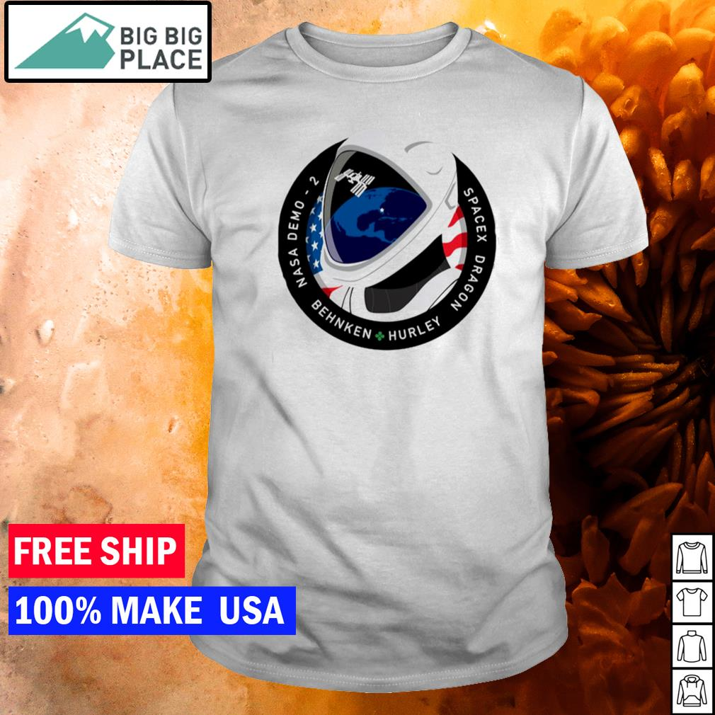 Nasa demo 2 behnken hurley spacex dragon shirt