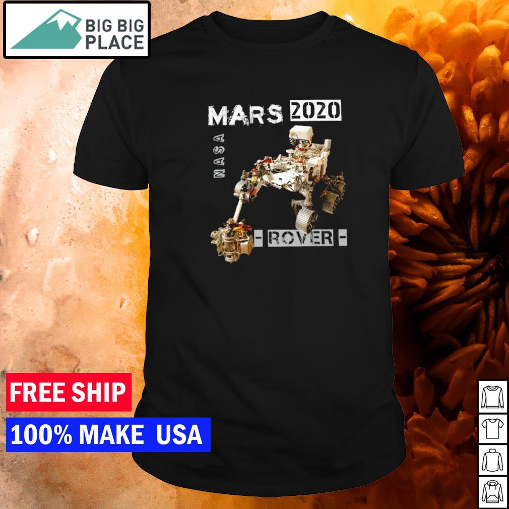 NASA mars 2020 rover shirt