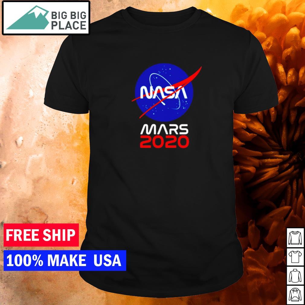 NASA mars 2020 shirt