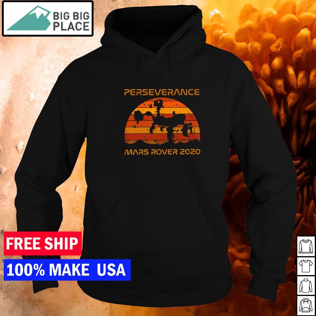 Perseverance mars rover 2020 vintage s hoodie