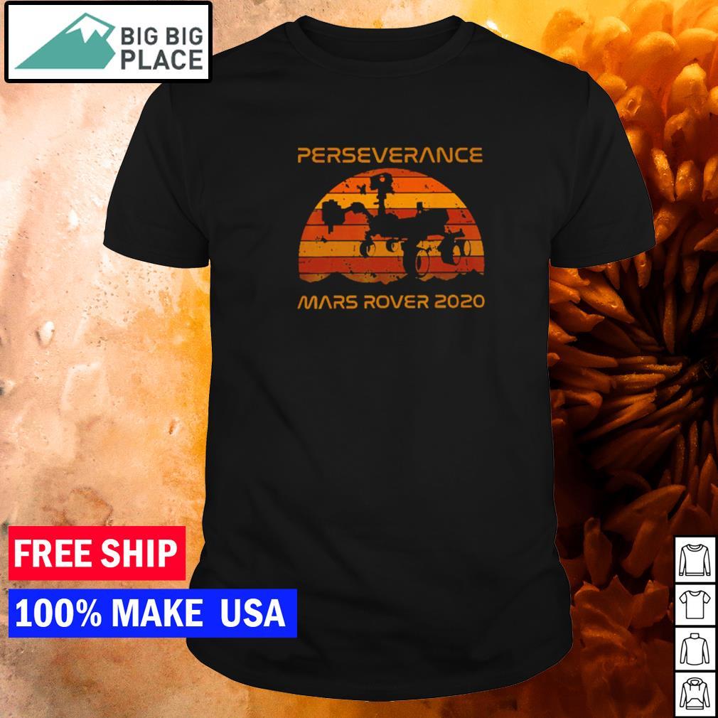 Perseverance mars rover 2020 vintage shirt