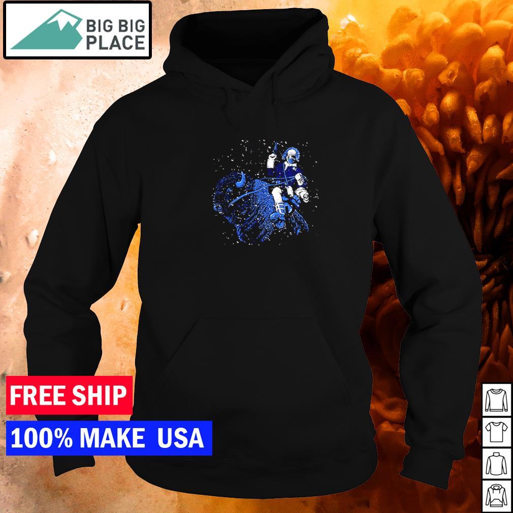 Riding Buffalo Bills star NFL s hoodie