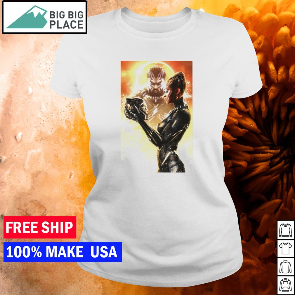 Shuri Black Panther Queen Wakanda Forever s ladies tee