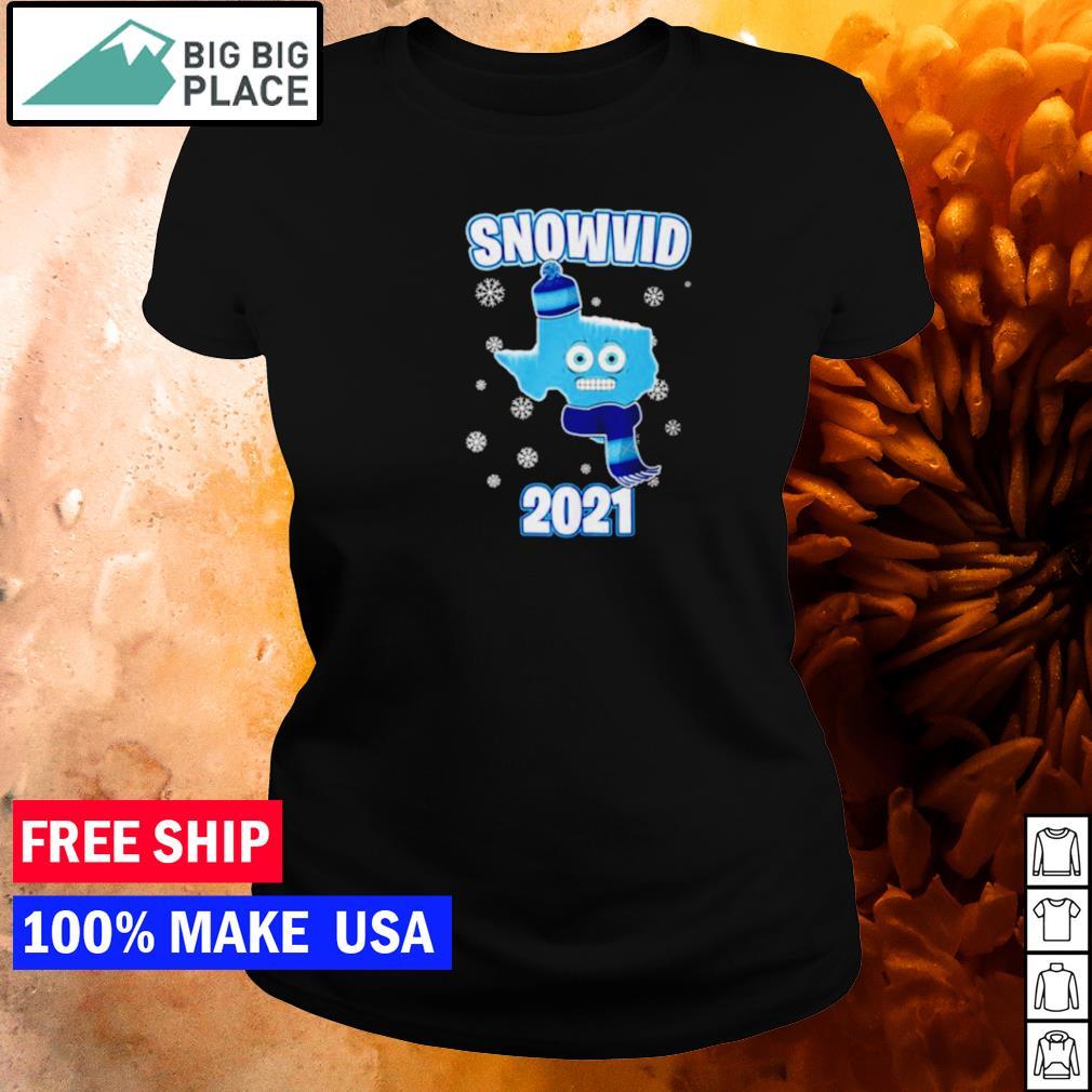 Snow Texas snovid 2021 s ladies tee