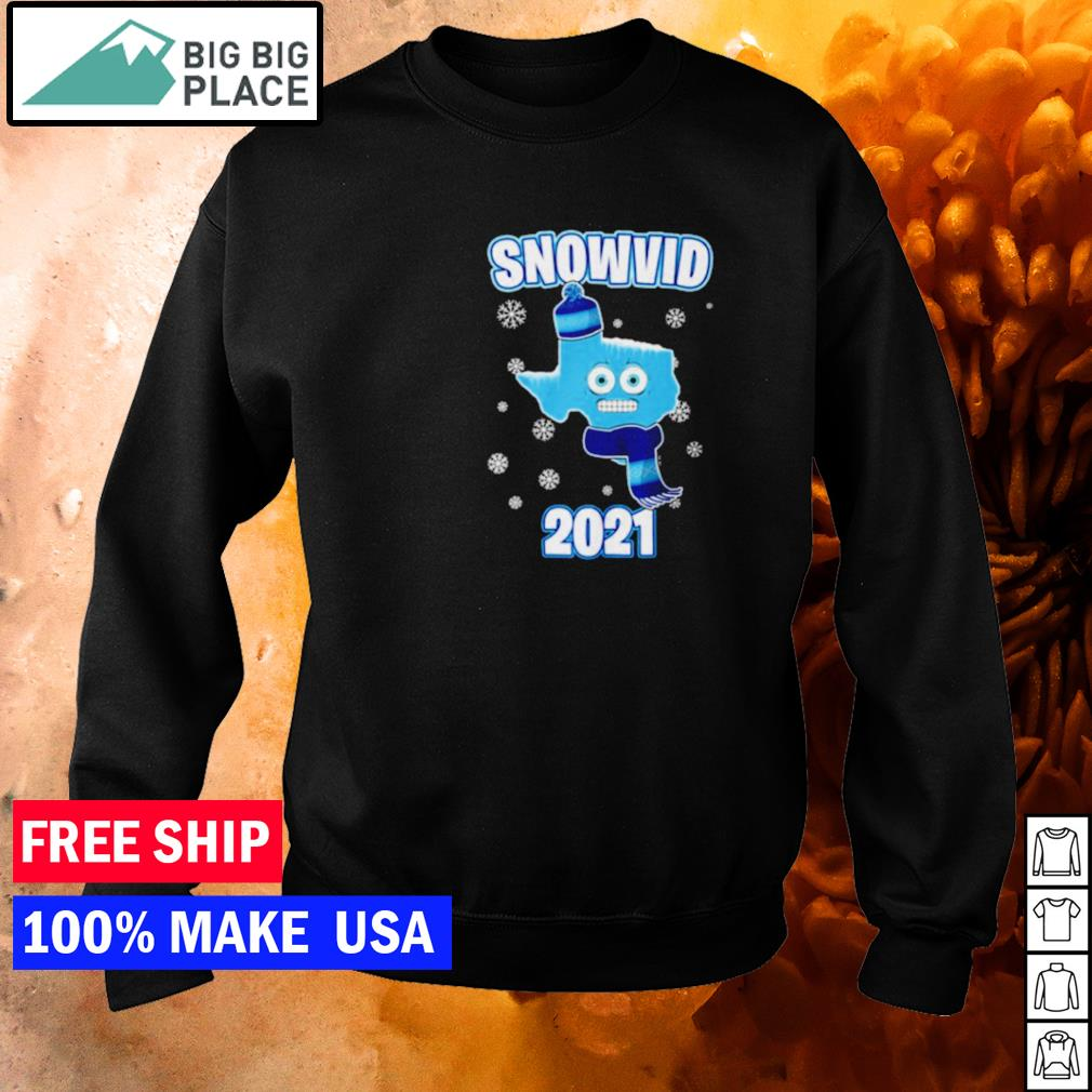 Snow Texas snovid 2021 s sweater