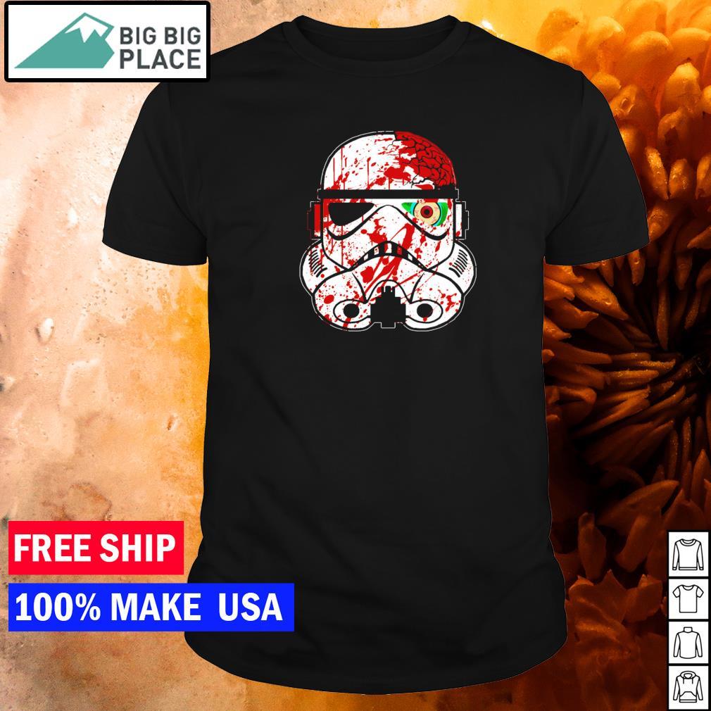 Star Wars zombie stormtrooper shirt