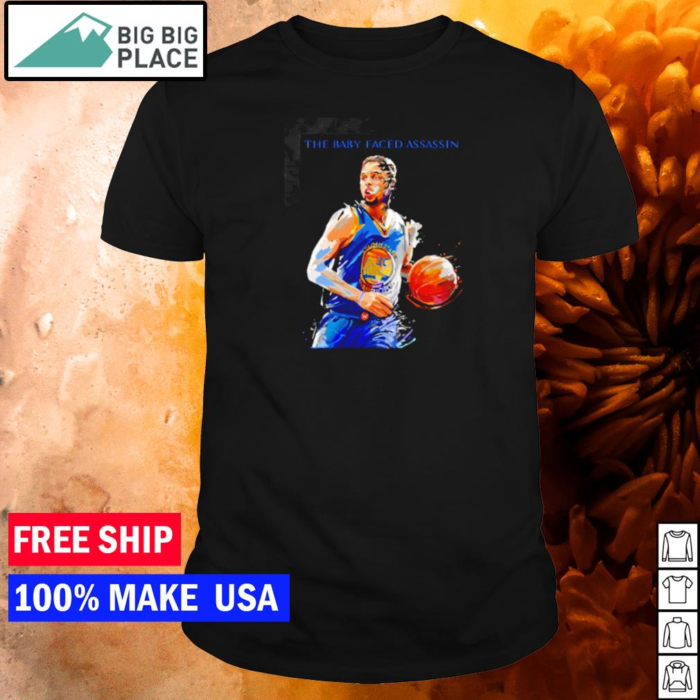 Steph Curry number 30 Golden State Warriors the baby faced assassin shirt