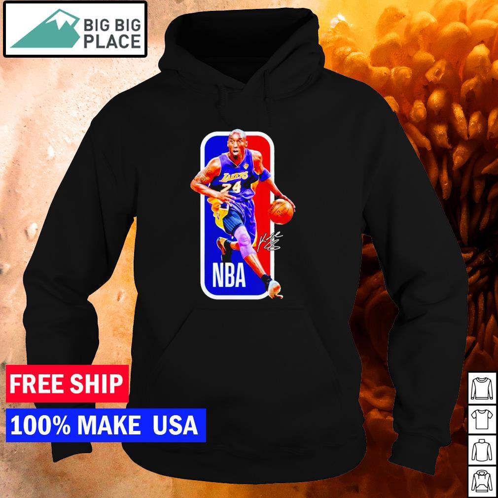RIP Kobe Bryant Los Angeles Lakers number 24 NBA signature s hoodie