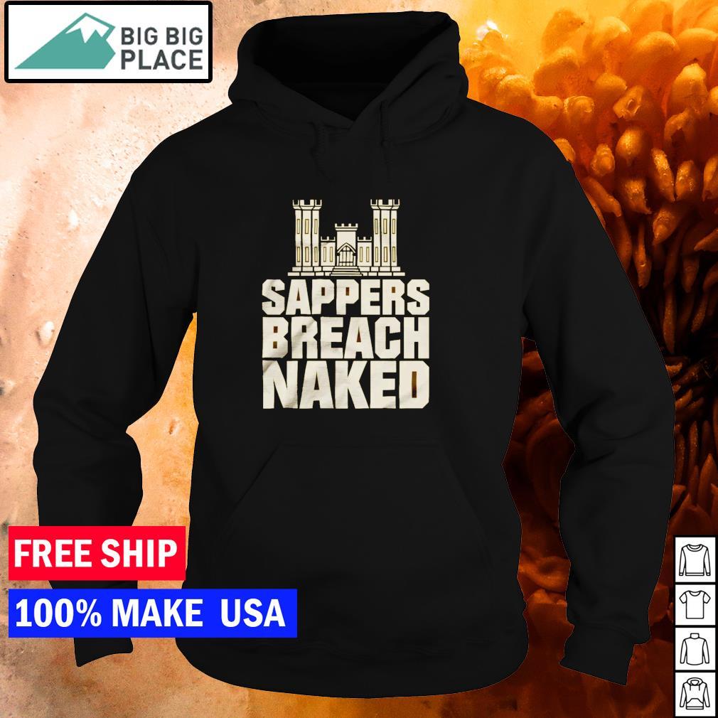 Sappers breach naked s hoodie