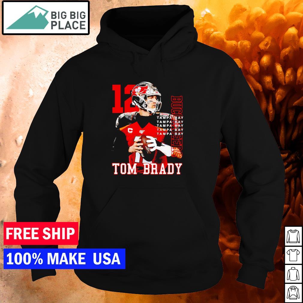 Tampa Bay Buccaneers Tom Brady number 12 MVP NFL s hoodie