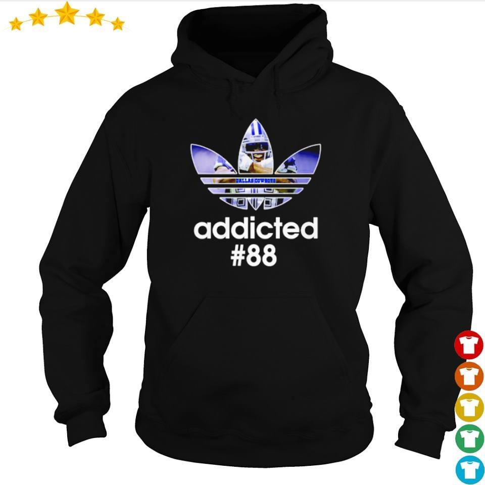 Adidas Dallas Cowboys addicted #88 s hoodie