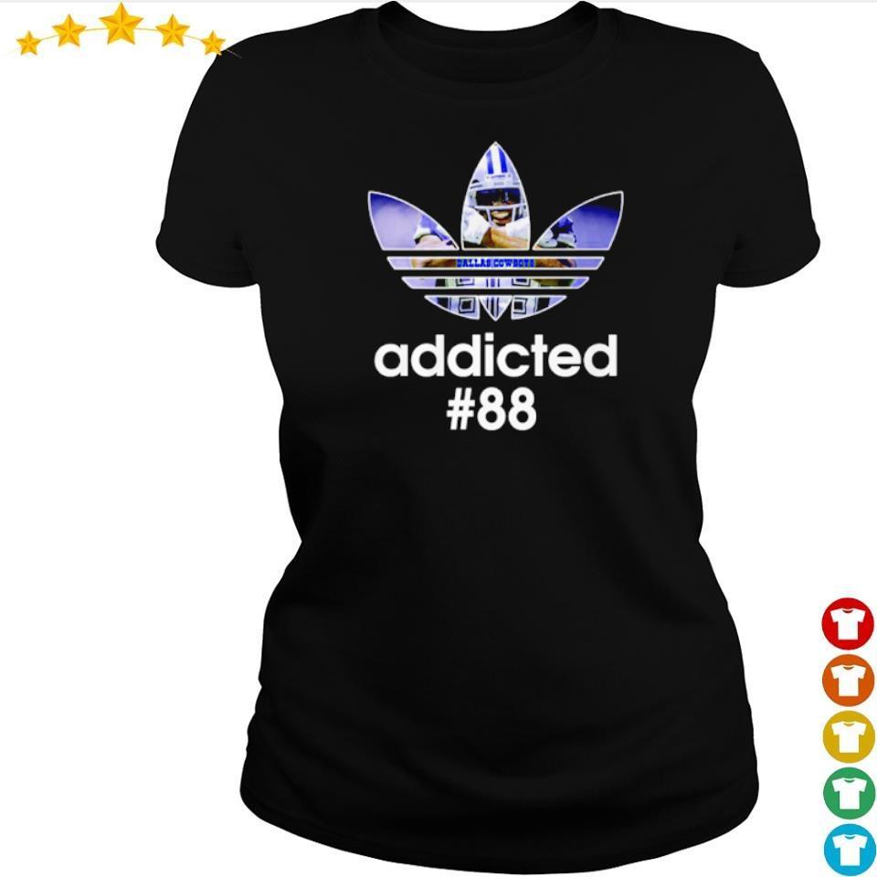 Adidas Dallas Cowboys addicted #88 s ladies tee