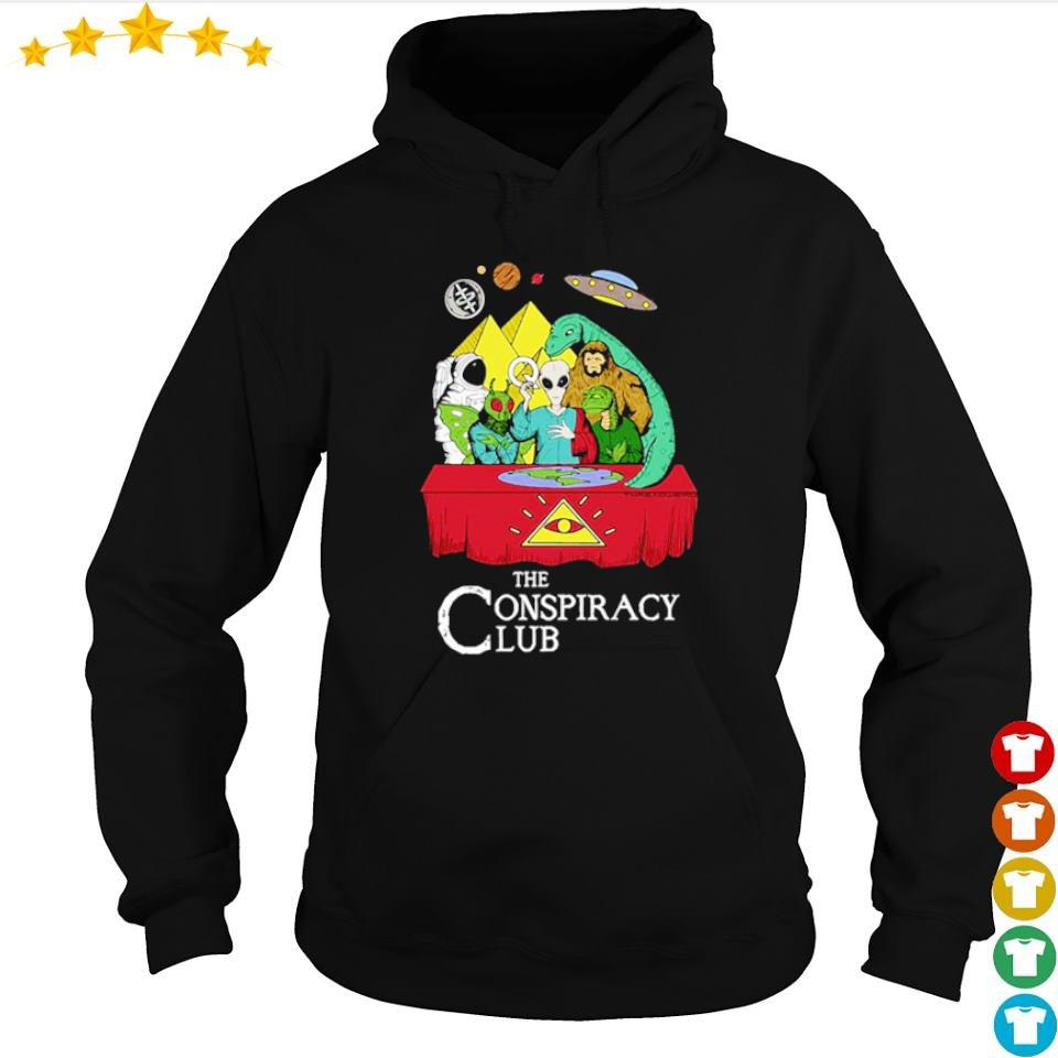 Alien the conspiracy club s hoodie