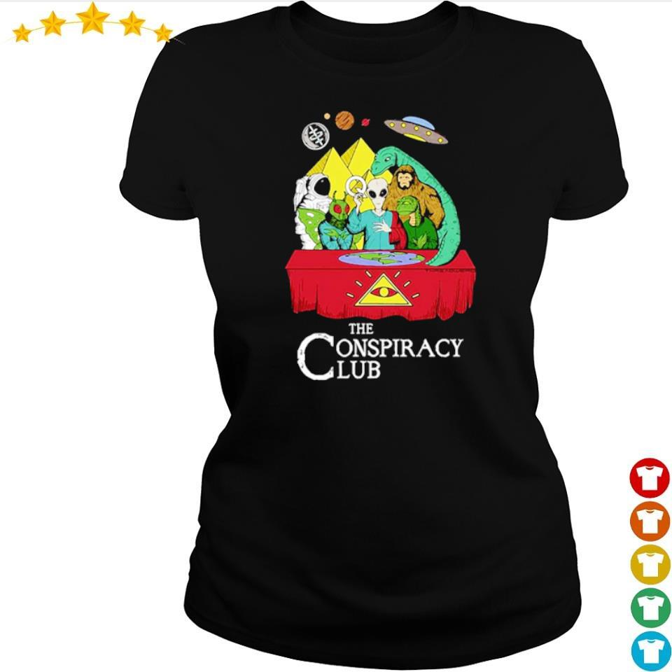 Alien the conspiracy club s ladies tee