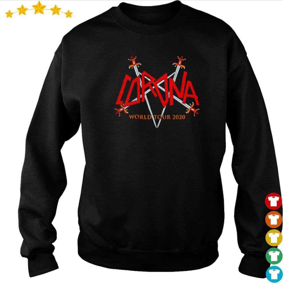 Corona Virus world tour 2020 s sweater