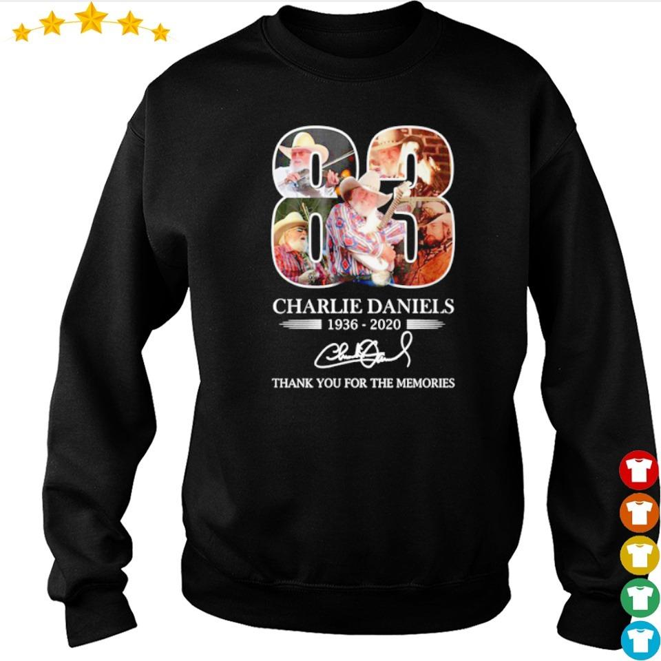 Charlie Daniels thank you for the memories s sweater