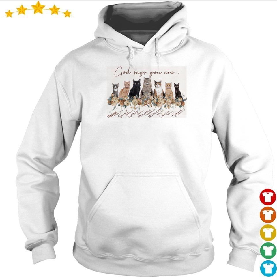 God says your are Unique lovely precious s hoodie