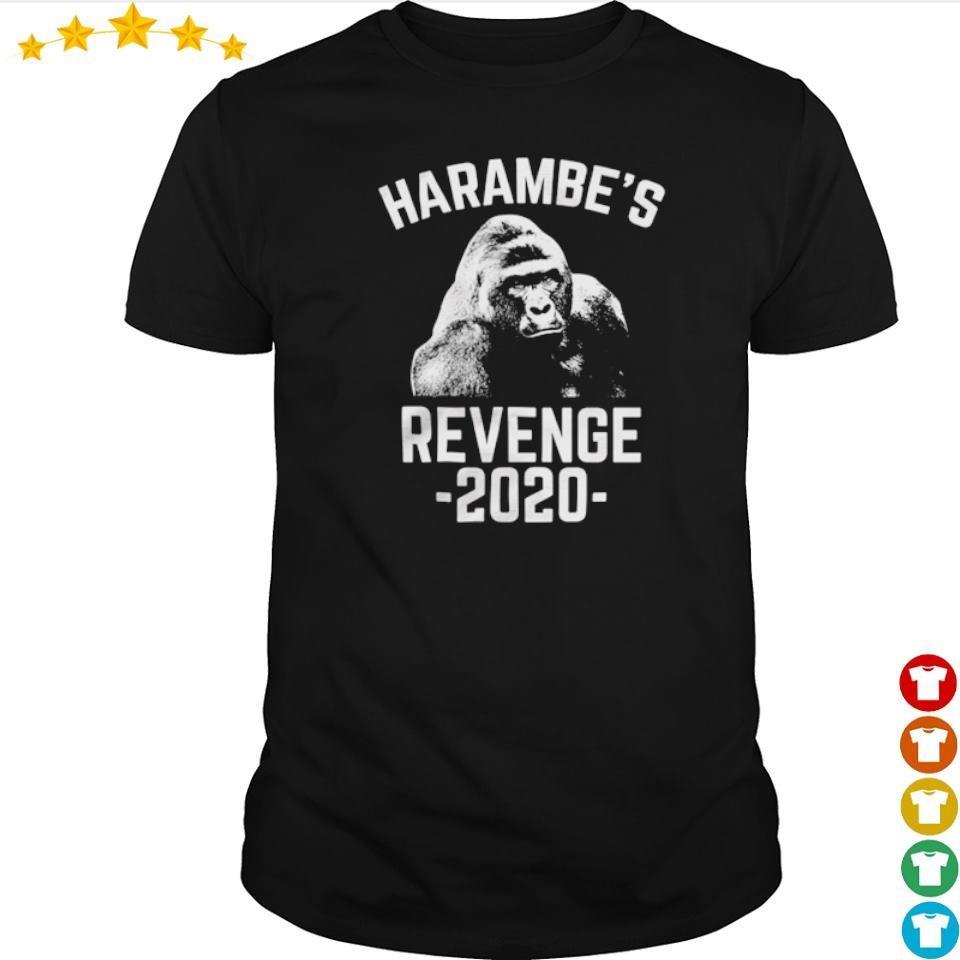 Gorilla harambe's revenge 2020 shirt
