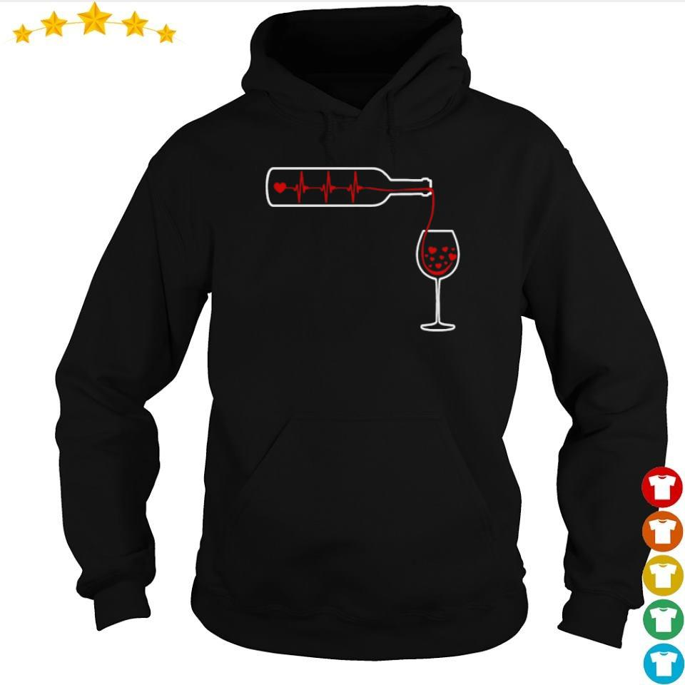 Heartbeat Wine S s hoodie