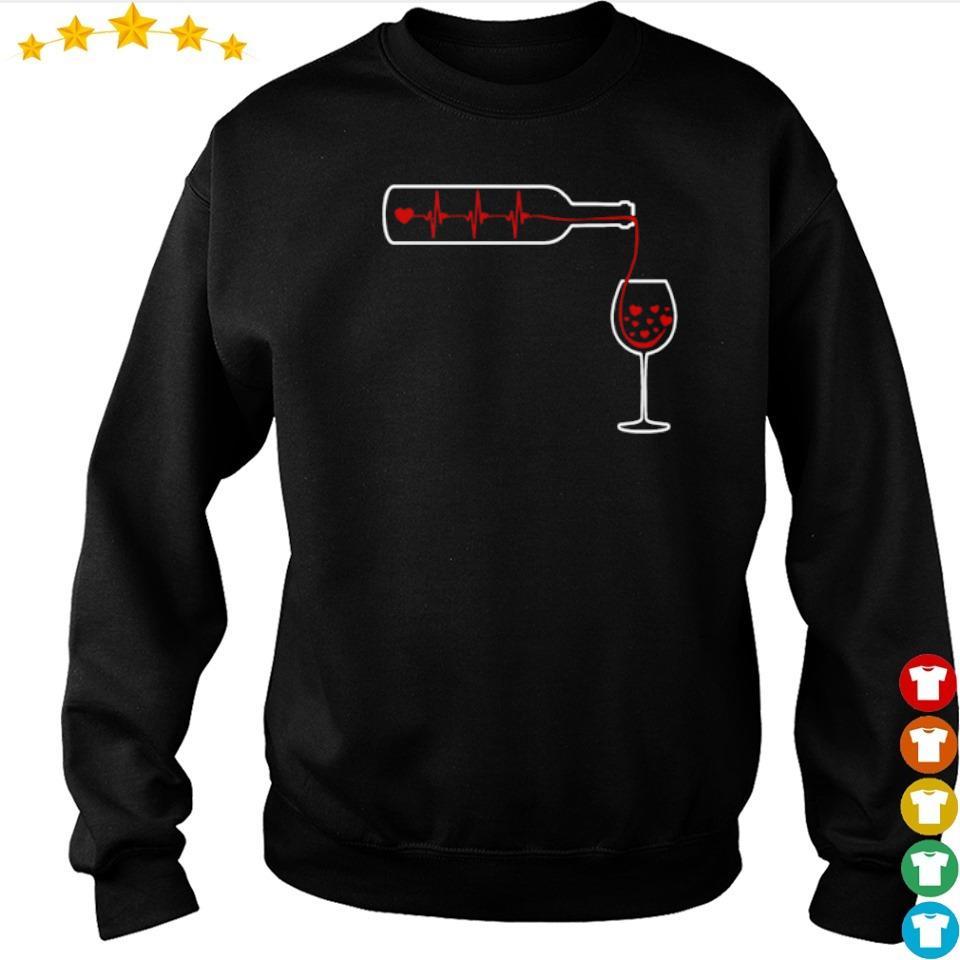 Heartbeat Wine S s sweater