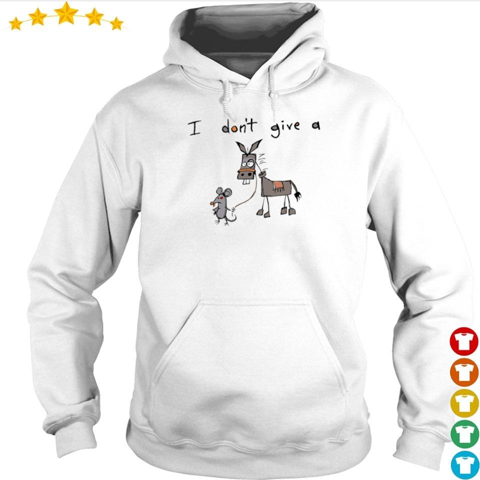 I don't give a mouse donkey s hoodie