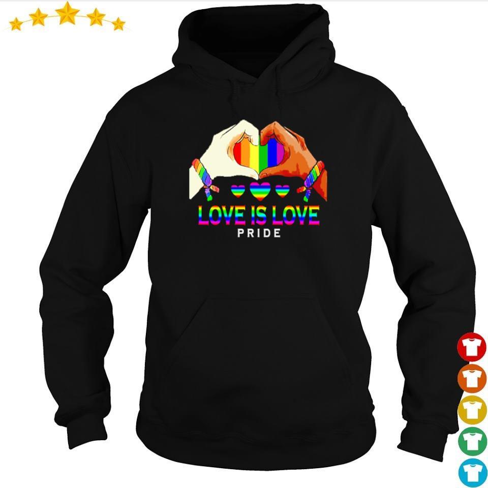 LGBT love is love pride s hoodie
