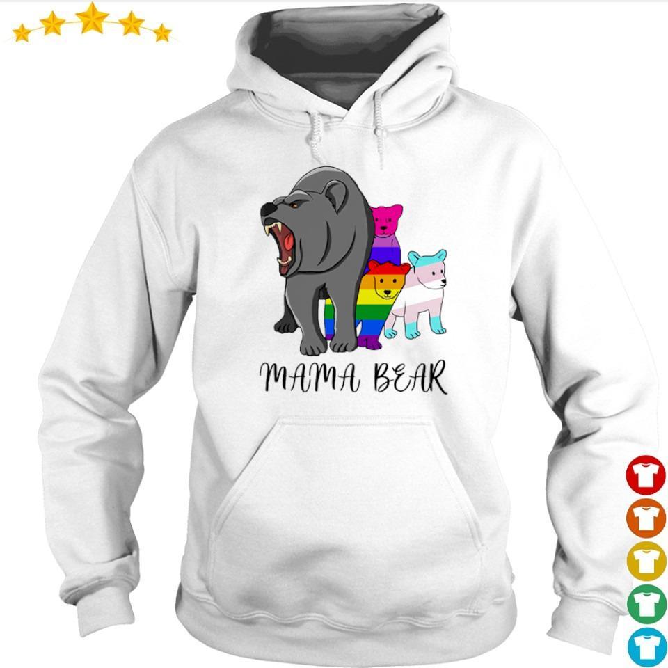 LGBT pride mama bear s hoodie