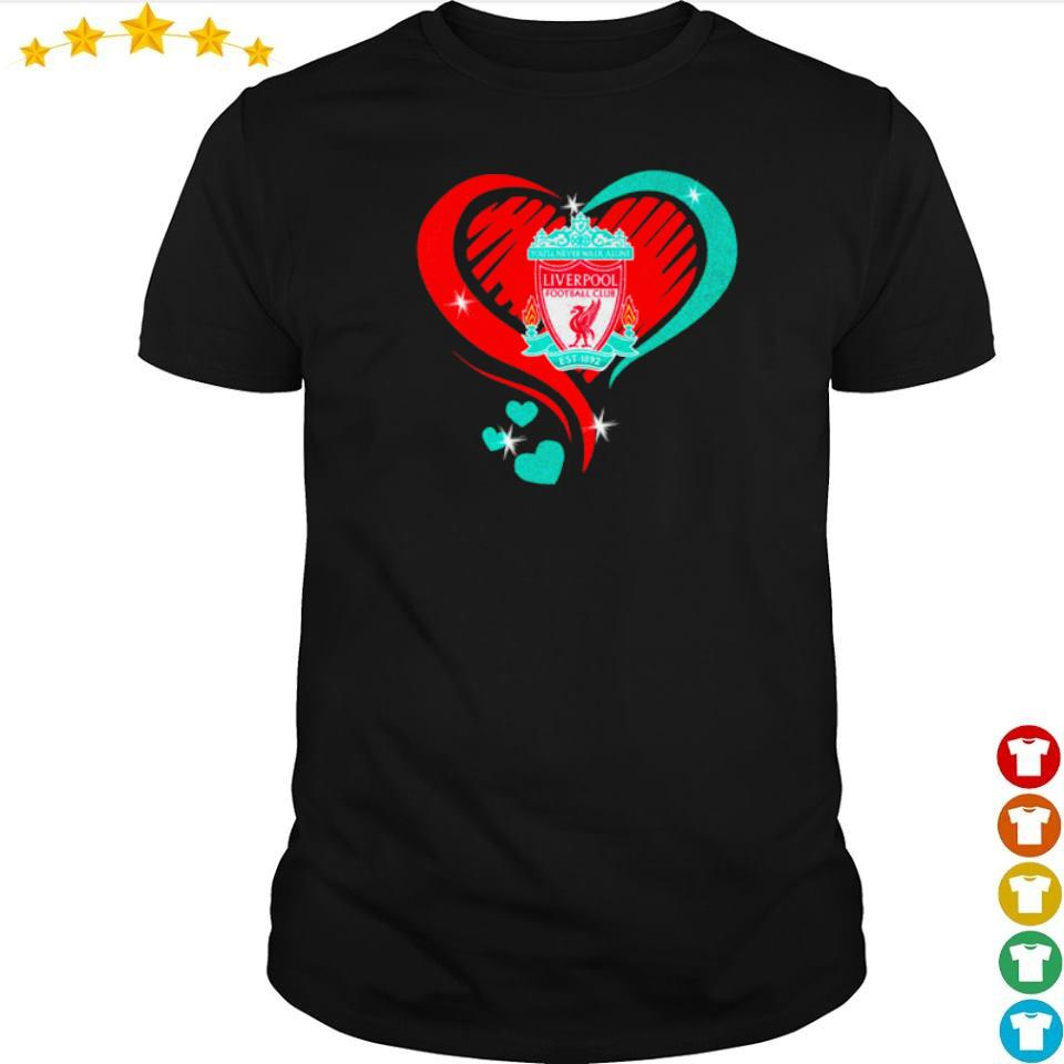 Liverpool Football Club Love heart shirt