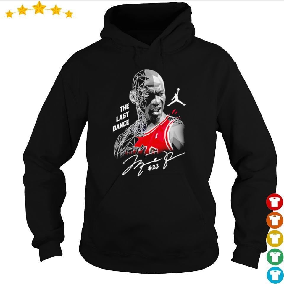 Michael Jordan The Last Dance #23 signature s hoodie