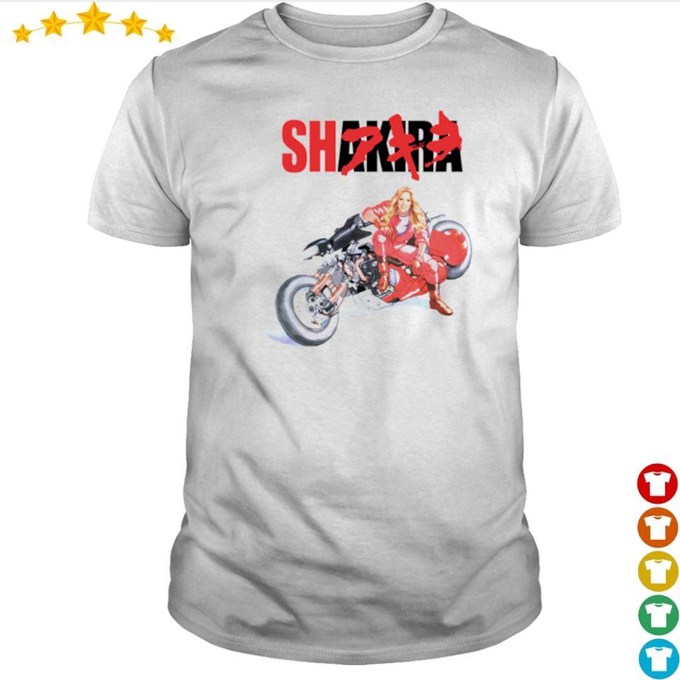 Motorcycle Shakira shirt
