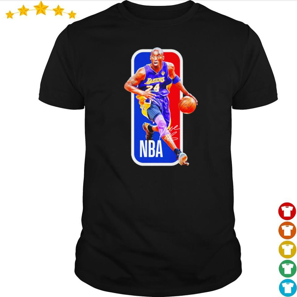 NBA RIP Kobe Bryant signature shirt