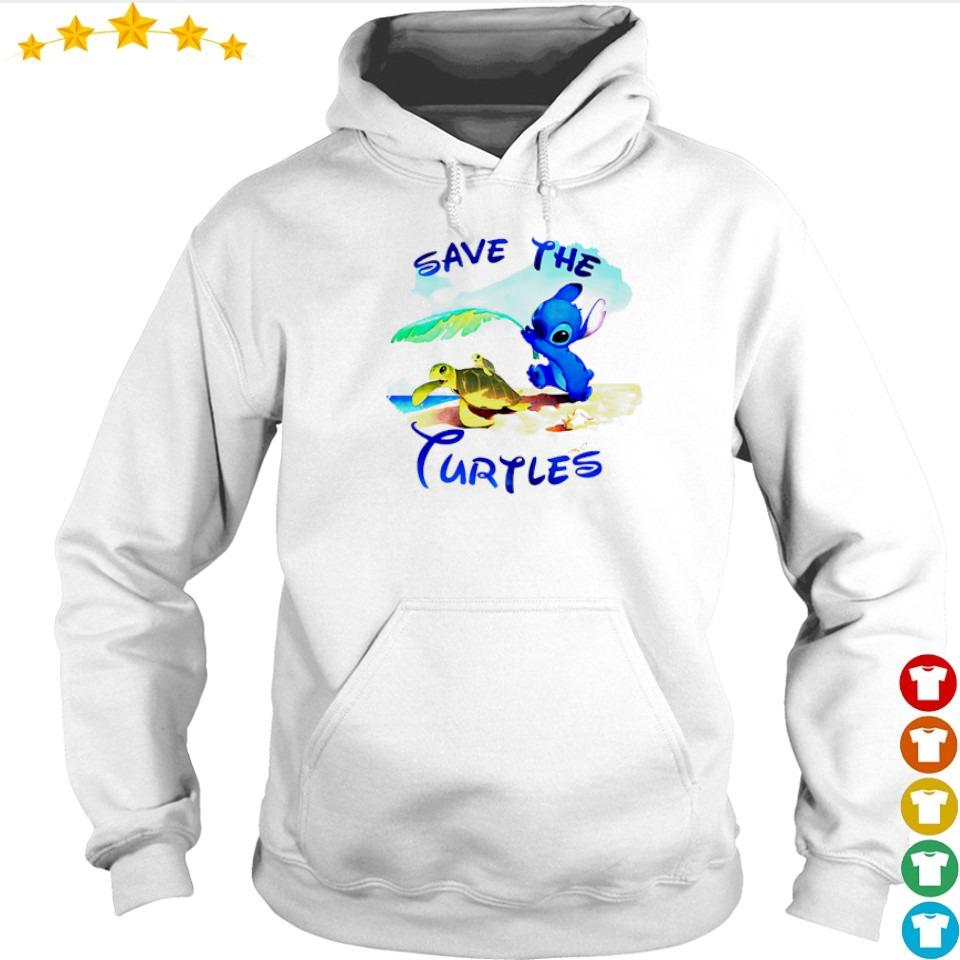 Stitch save the Turtles s hoodie