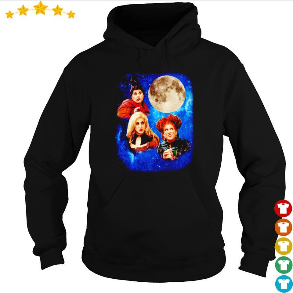 Three Hocus Pocus moon s hoodie