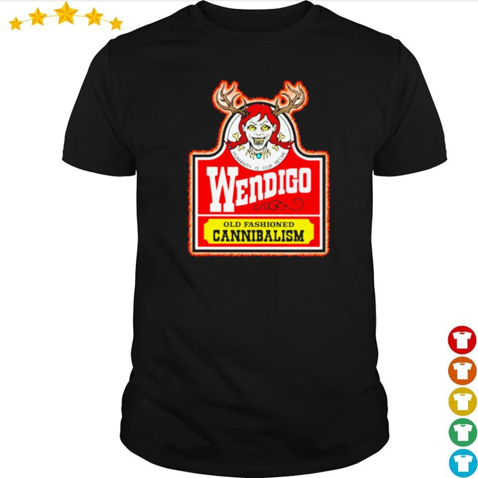 Wendigo old fashioned cannibalism shirt