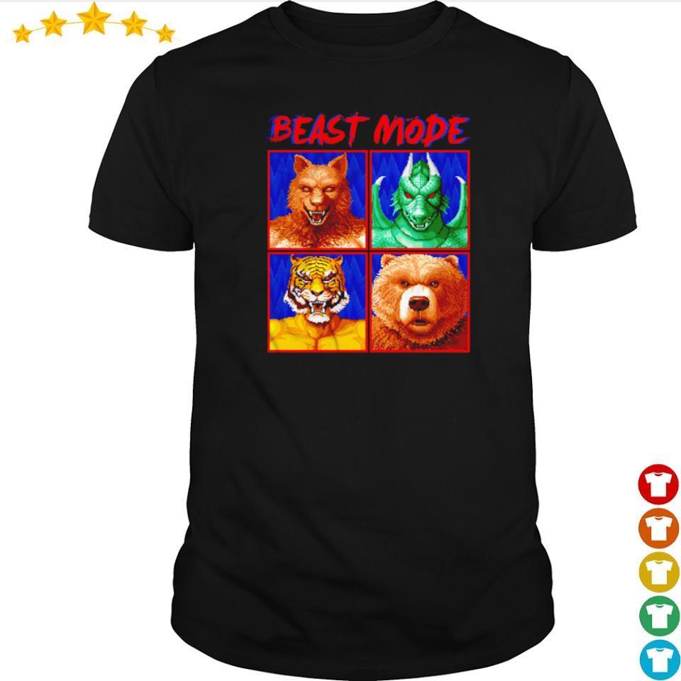 Altered Beast werewolf weredragon Beast Mode shirt
