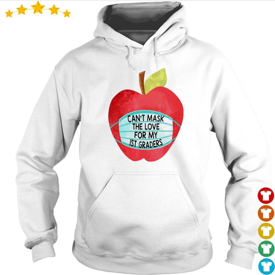 Apple can't mask the love for me IST graders s hoodie