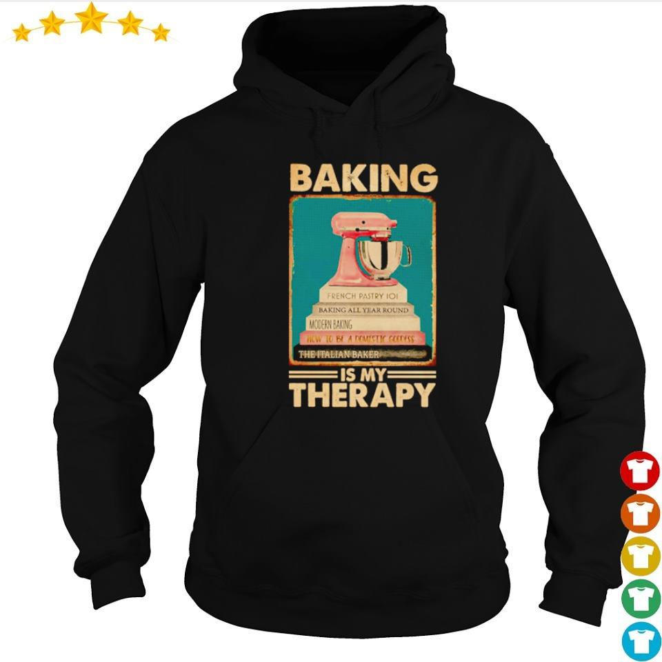 Beking is my therapy s hoodie