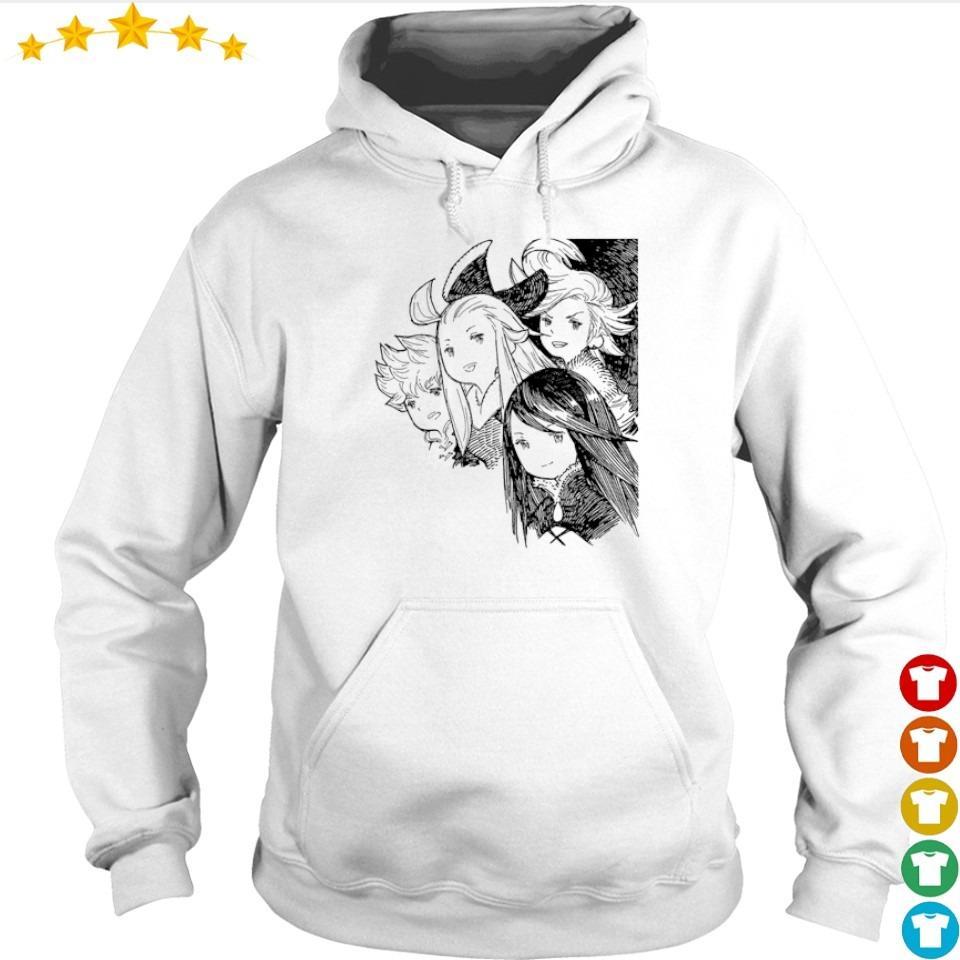 Bravely Default Brave Heroes s hoodie