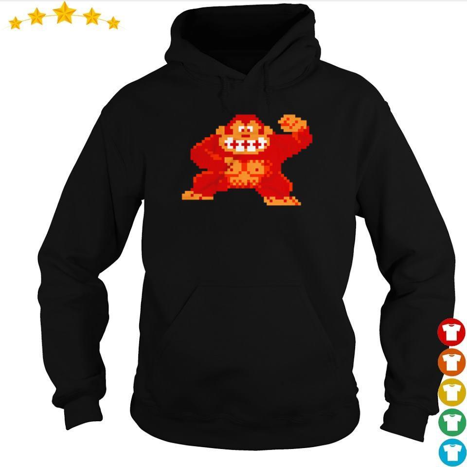 Donkey Kong Angry Ape s hoodie