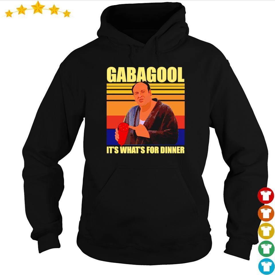 Gabagool it's what's for dinner vintage s hoodie