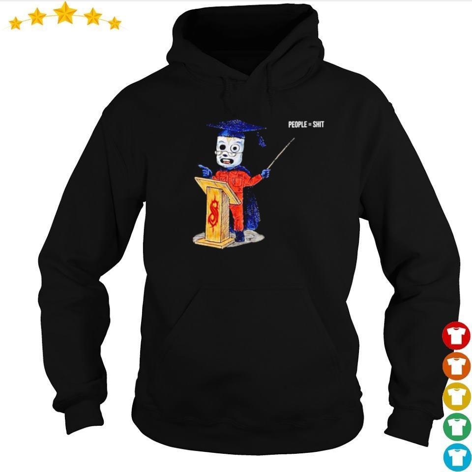 Graduating SlipKnot people hoodie