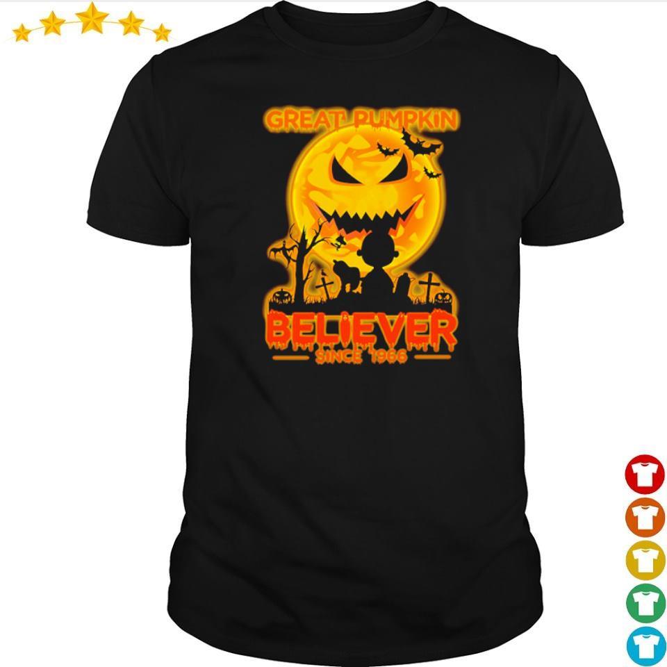 Great pumpkin believer since 1966 shirt