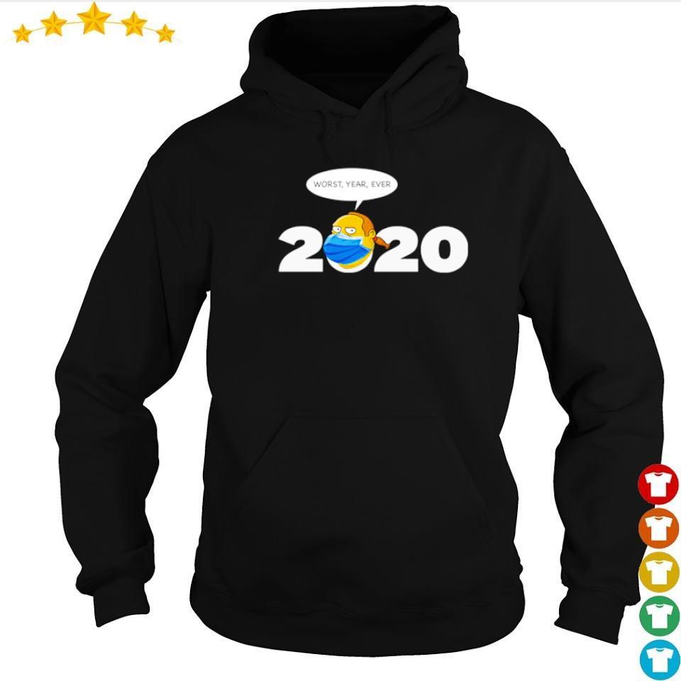 Jeff Albertson 2020 worst year ever s hoodie