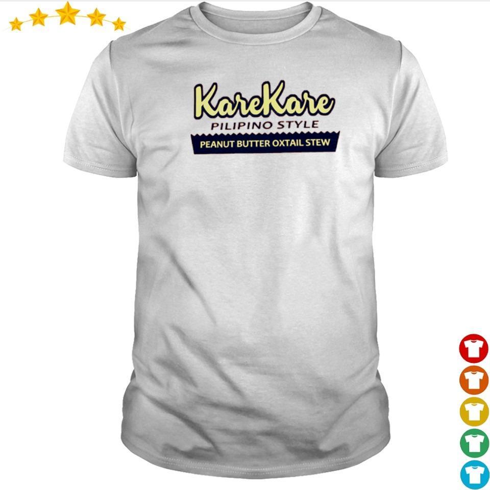 KareKare pilipino style peanut butter oxtail stew shirt